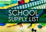 School Supply Lists 2017-2018