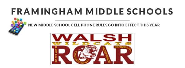 WALSH CELLPHONE POLICY
