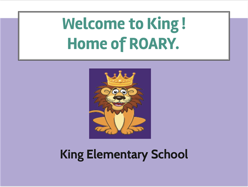 Welcome To King