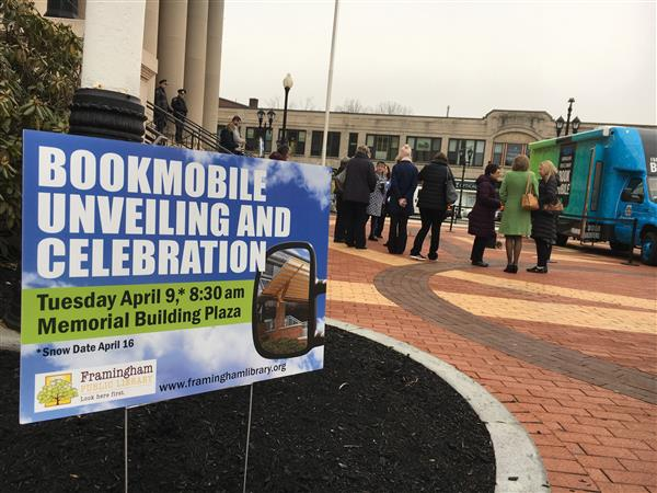 Framingham Public Library Launches the Bookmobile