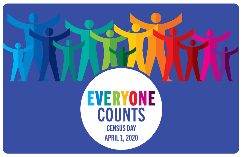 Everyone Counts - It's Census Day - April 1, 2020