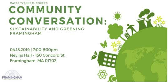 Community Conversation on Sustainability and Greening