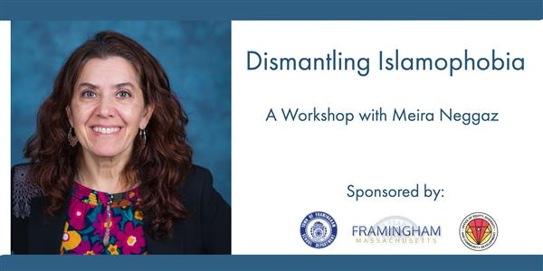 [EVENT] Dismantling Islamophobia A Workshop with Meira Neggaz