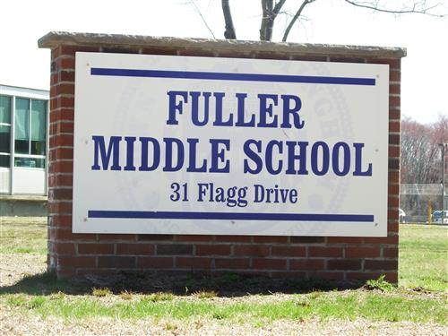 Fuller Middle School Sign