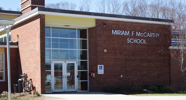 Photo of McCarthy Elementary School