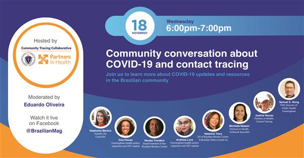 Community Conversation About COVID-19 and Contact Tracing