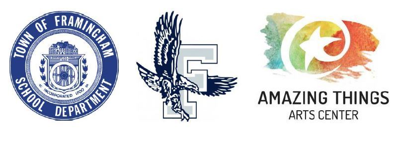FPS Seal Logo, FHS Logo, and Amazing Things Art Center Logo