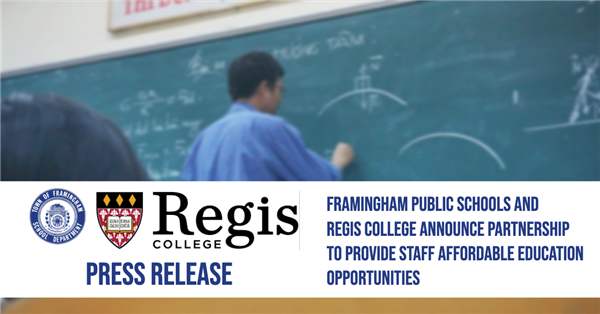 Regis and FPS Partnership Image for Press Release