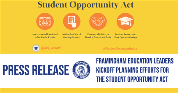Student Opportunity Act Press Release Graphic