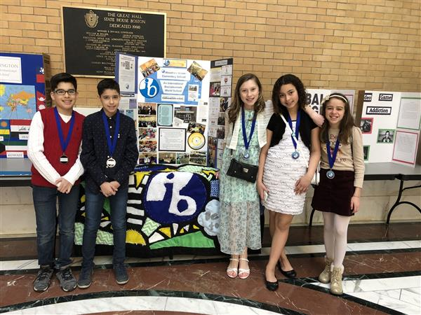 Woodrow Wilson Students visit the State House for IB Advocacy Day
