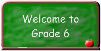Image result for welcome grade 6