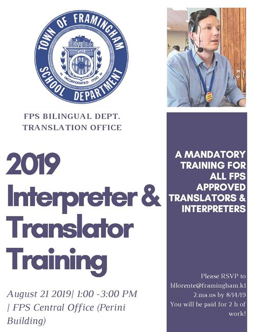 Interpreter & Translator Training