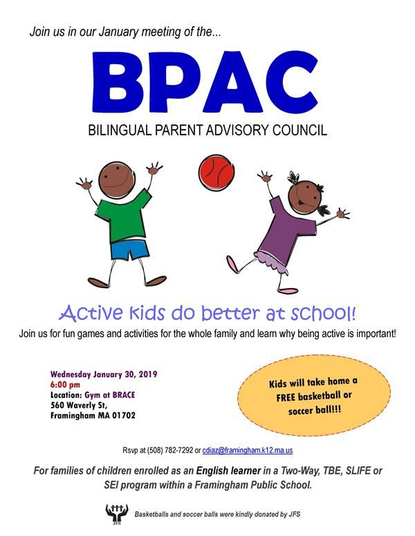 BPAC January Meeting