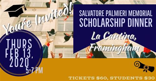 Annual Salvatore Palmieri Memorial Scholarship Dinner
