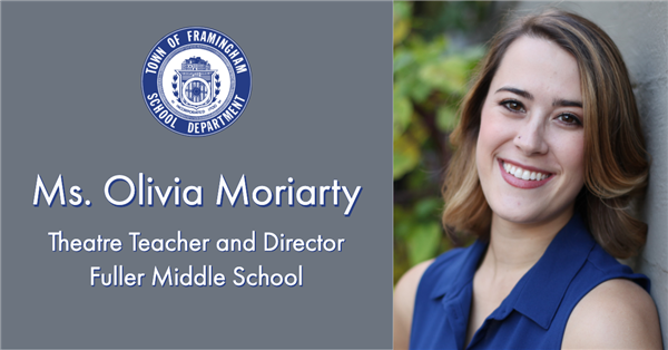 Olivia Moriarty announced as the new Theater Director and Teacher at Fuller Middle School