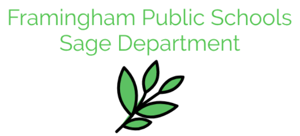 Framingham Public Schools Sage Department
