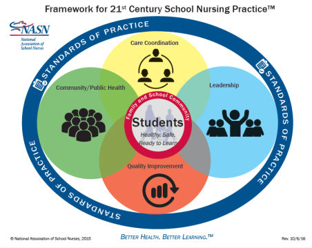 Framework for 21st Century School Nursing Practice