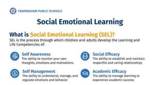What is Social Emotional Learning and how are we implementing it in Elementary Schools?