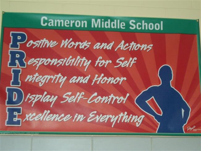 Cameron Middle School / Homepage